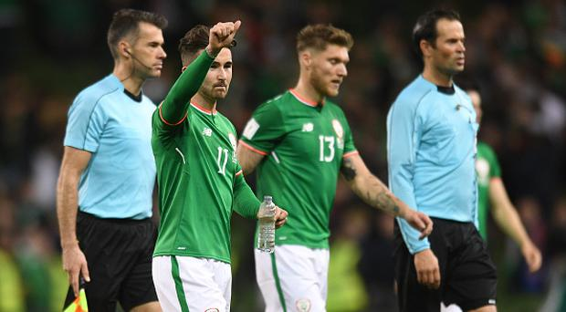 Sean Maguire ruled out of Ireland's World Cup clash with Denmark