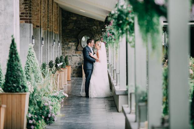Real Weddings Castle Durrow: Childhood Sweethearts Danielle And Con Hogan Tie The Knot