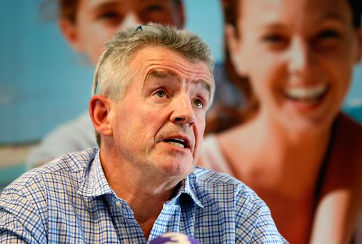 Ryanair's Michael O'Leary. Photo: Frank McGrath
