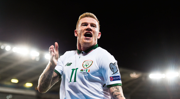 'Our own media wrote us off' - James McClean delighted to silence Ireland's doubters