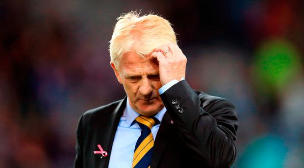 Strachan: Team selection criticised. Photo: PA Wire