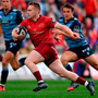 Rory Scannell has emerged as one of Munster's most consistent performers Photo: Brendan Moran/Sportsfile