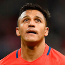 Arsenal forward Alexis Sanchez could still leave the club this season Photo: FRANCK FIFE/AFP/Getty Images