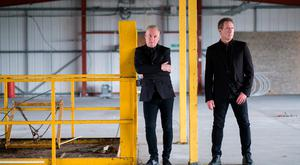 On the road to Dublin: Humphreys and McCluskey (right) of OMD