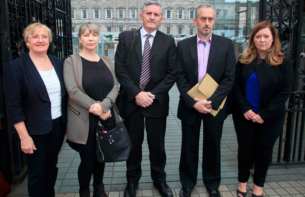 At the committee meeting were (l-r) Helen Grogan, Hazel Melbourne, Padraig Kissane, Thomas Ryan and Niamh Byrne