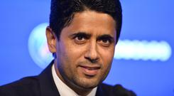 Paris Saint-Germain President Nasser Al Khelaifi. Photo: Getty