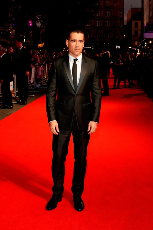 Actor Colin Farrell attends the Headline Gala Screening & UK Premiere of