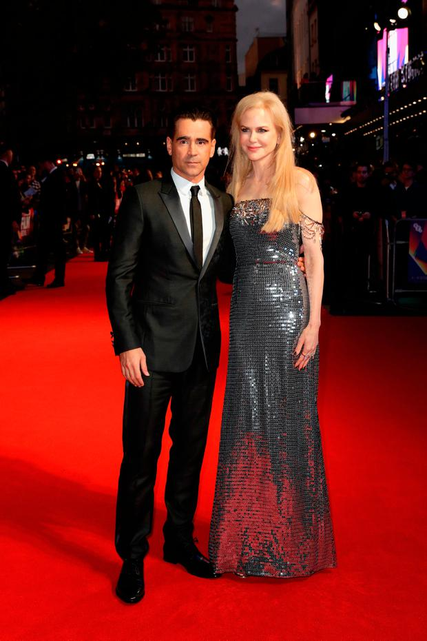 Colin Farrell and Nicole Kidman attend the Headline Gala Screening & UK Premiere of