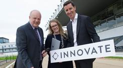 Joe Lewins Director of Tote and Wagering (IGB), Annette Soraine CCO Innovate and Jim Hughes CEO Innovate