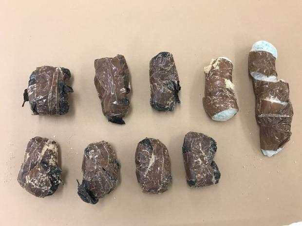 Cocaine seized by police as part of the major international drug bust Photo: Northern Territory Police