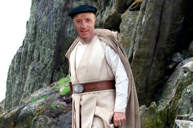 Of the island's role in Star Wars, Michael Healy-Rae added: