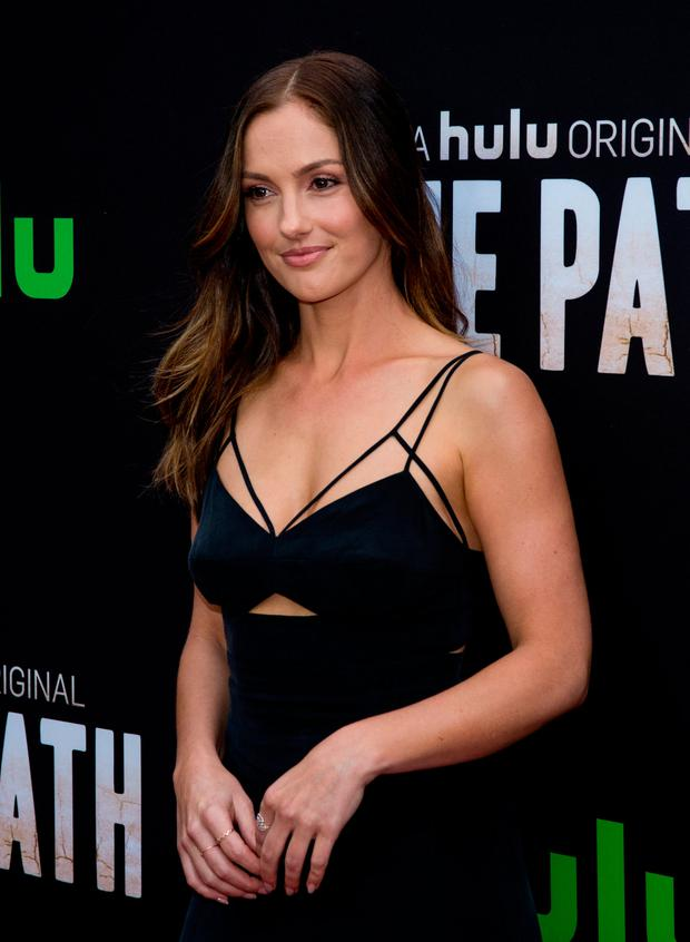 Minka Kelly arrives during the premiere of Hulu's 'The Path' at ArcLight Hollywood on March 21, 2016 in Hollywood, California. (Photo by Mark Davis/Getty Images)