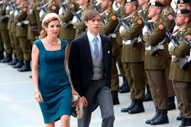 Princess Tessy of Luxembourg and Prince Louis of Luxembourg celebrate National Day on June 23, 2013 in Luxembourg, Luxembourg. (Photo by Mark Renders/Getty Images)
