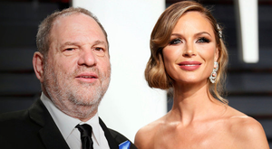 Harvey Weinstein and Georgina Chapman. Photo: Reuters