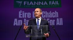 Micheál Martin TD delivers the keynote address