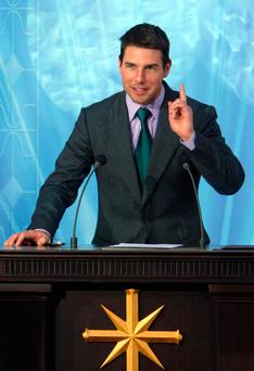 Celebrity Scientologist Tom Cruise. Photo: AFP/Getty