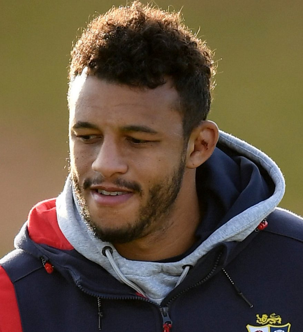 Courtney Lawes is in serious form. Photo: Sportsfile