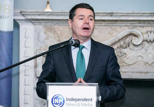 Minister for Finance Pascal Donohoe TD Photo: Kyran O'Brien