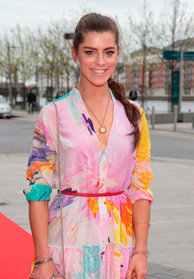 Actress Aoibhinn McGinnity. Photo: Brian McEvoy