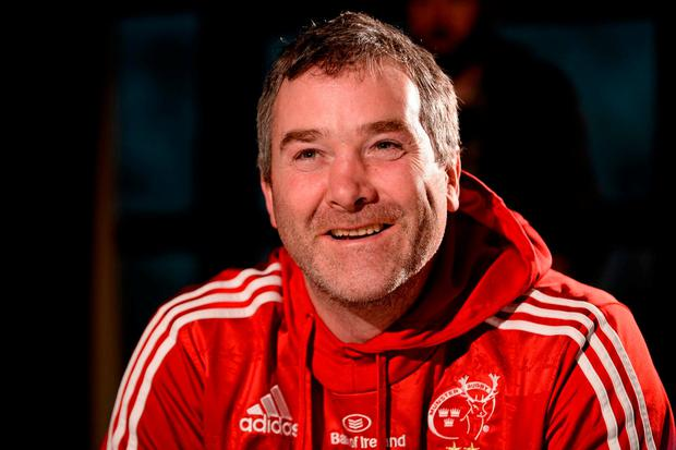 Anthony Foley, who died suddenly a year ago. Photo: SPORTSFILE