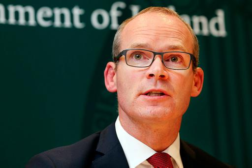 Minister for Foreign Affairs and Trade Simon Coveney. Photo: Steve Humphreys