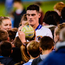 Diarmuid Connolly is surrounded by fans after St Vincent's booked their place in the Dublin SFC final at Parnell Park. Photo: Piaras Ó Mídheach/Sportsfile