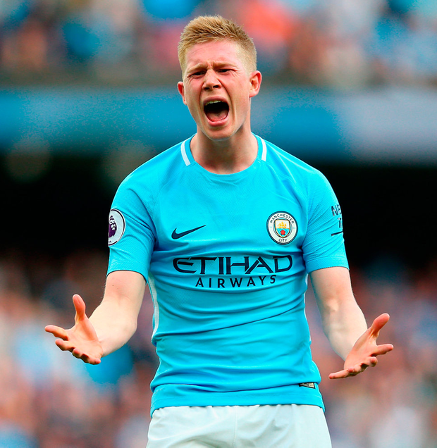 City's Belgian ace Kevin de Bruyne. Photo: Getty Images