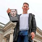 Dublin footballer Philly McMahon launches his new book. Photo: Donall Farmer