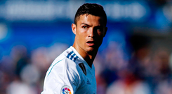 Real Madrid's Cristiano Ronaldo. Photo: Getty Images