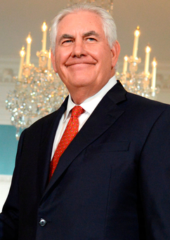 U.S. Secretary of State Rex Tillerson. Photo: Reuters