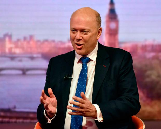 Nonsense: Chris Grayling. Photo: PA Wire