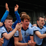 Na Piarsaigh players celebrate after beating Kilmallock at the Gaelic Grounds. Photo: Sportsfile