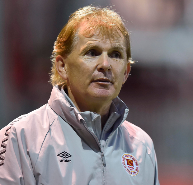 St Pat's manager Liam Buckley. Photo: Sportsfile
