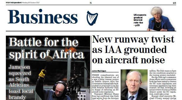 What it says in the papers – business pages