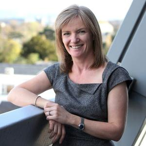 RTE weather presenter Joanna Donnelly
