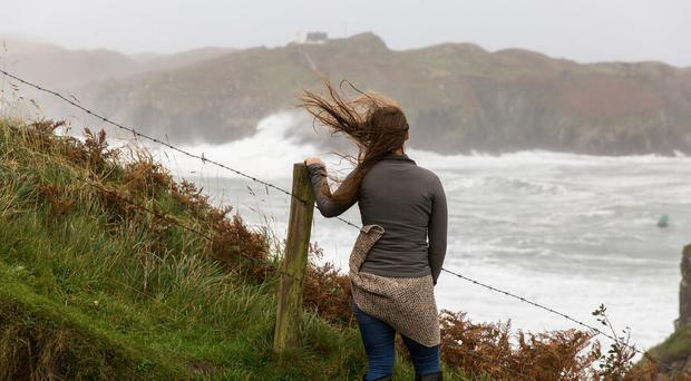 Ophelia Storm strikes in Baltimore, West Cork. Photo. Emma Jervis Photography