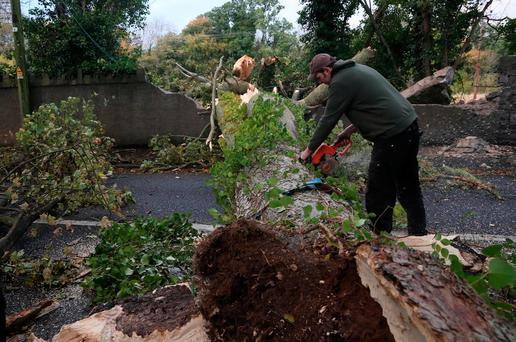 STORM OPHELIA: Power restored to 50000 customers - NIE
