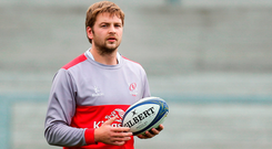 Confident: Iain Henderson. Photo by John Dickson/Sportsfile