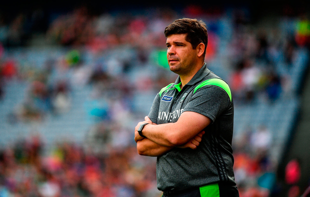 Fitzmaurice has a year to run on his latest agreement with Kerry County Board and a further two years, taking him until the end of 2020, was proposed late last month. Photo by Ramsey Cardy/Sportsfile