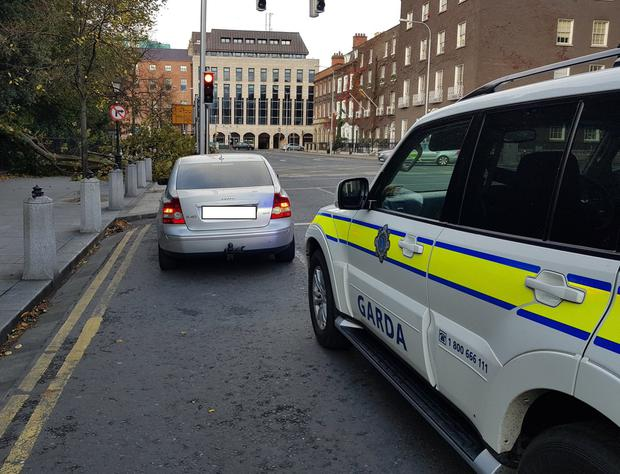 The image released by GardaTraffic