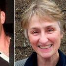 Michael Pyke, who was killed during storm Ophelia and Clare O'Neill who was killed in a car accident during storm Ophelia