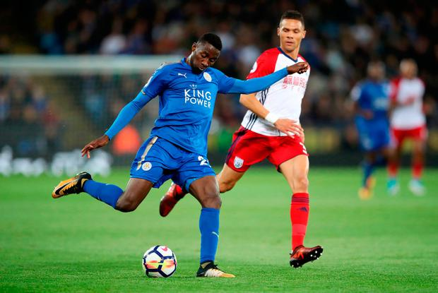 Leicester City's Wilfred Ndidi crosses. Photo credit: Nick Potts/PA Wire