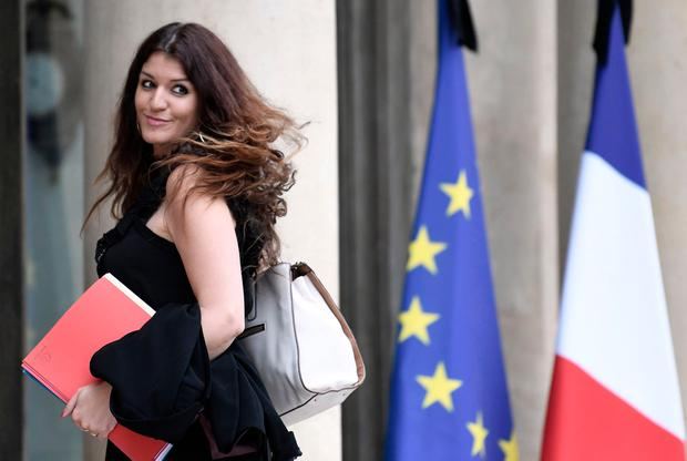 French minister for gender equality Marlene Schiappa. Photo: AFP/Getty Images