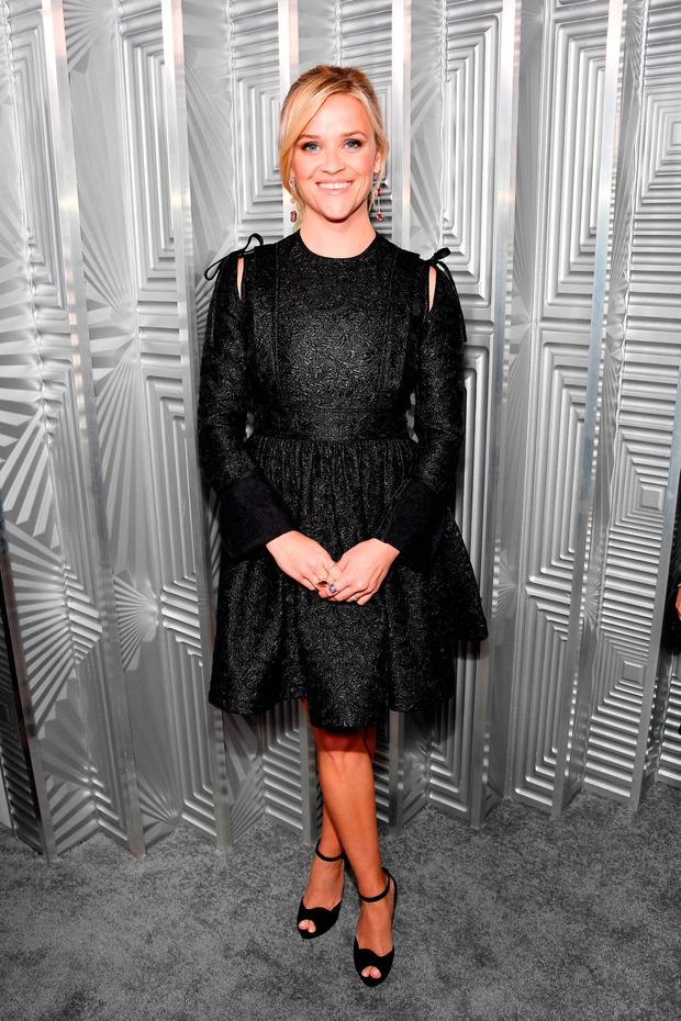 Reese Witherspoon attends ELLE's 24th Annual Women in Hollywood Celebration presented by L'Oreal Paris, Real Is Rare, Real Is A Diamond and CALVIN KLEIN at Four Seasons Hotel Los Angeles at Beverly Hills on October 16, 2017 in Los Angeles, California. (Photo by Frazer Harrison/Getty Images for ELLE)