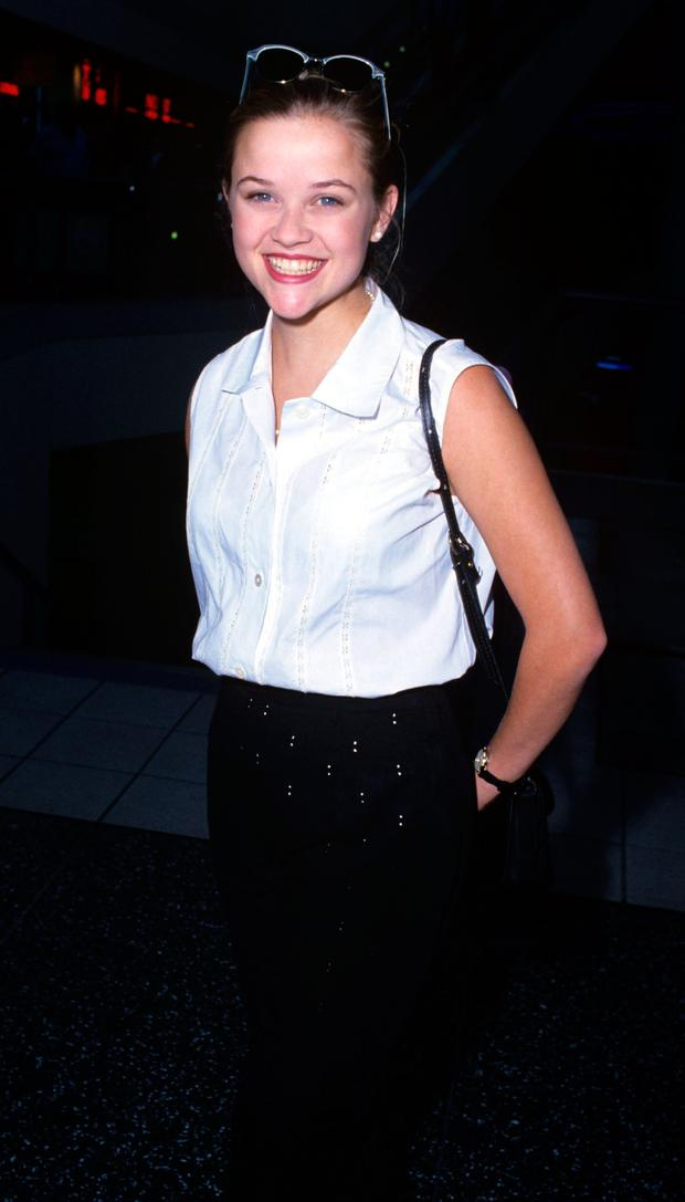 Reese Witherspoon in 1993. (Photo by S. Granitz/WireImage)