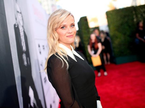 Reese Witherspoon arrives at American Film Institute's 45th Life Achievement Award Gala Tribute to Diane Keaton at Dolby Theatre on June 8, 2017