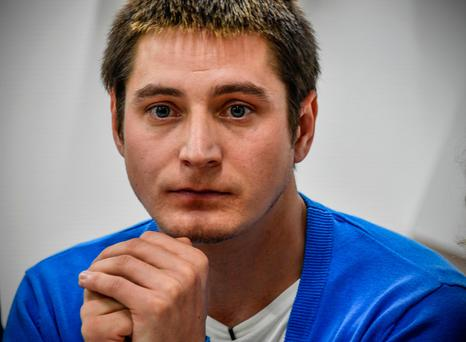 Maxim Lapunov went public to describe his detention and torture by police during a crackdown on gay men