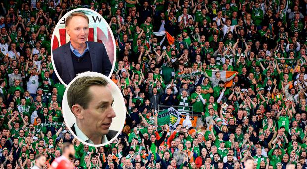 Ryan Tubridy has slammed Dan Brown for depicting Irish soccer fans as hooligans in fictional book