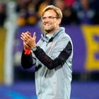 Liverpool manager Jurgen Klopp celebrates at the end of the match. Photo: AP