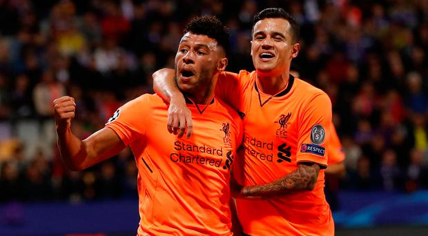 Reds run riot with magnificent seven